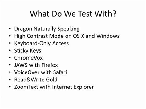 dragon naturally speaking help desk what do we test with