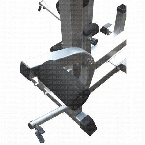 image 3 4 weight bench multi purpose weight training bench workout fitness