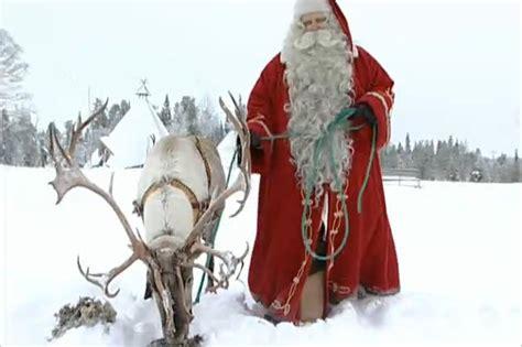 ebc como   natal na finlandia  terra  papai noel