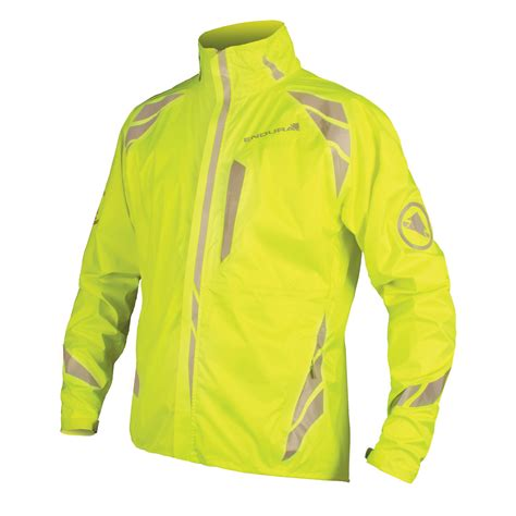 bike windbreaker jacket wiggle endura luminite ii jacket cycling waterproof