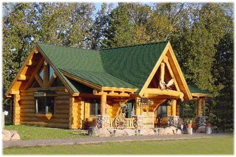 yellowstone log homes of mn