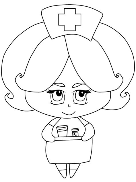 coloring pages for nurses coloring pages for coloring home