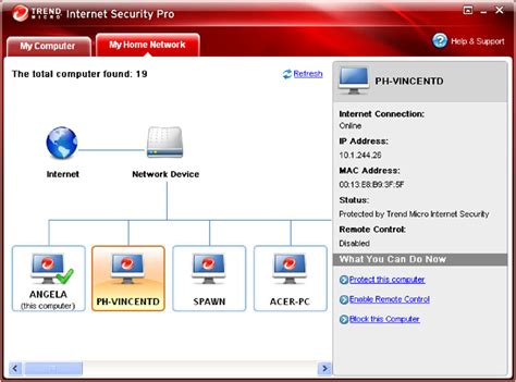 home mapping software trend micro security version software