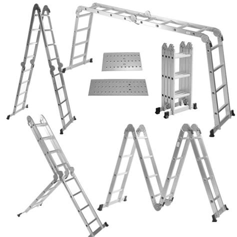 Multi Purpose Ladder what are the different types of ladder and how to properly