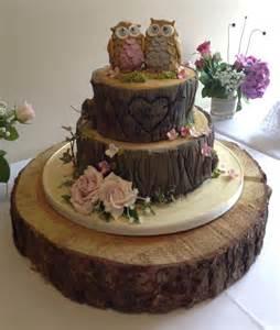 owl bark cake the wedding cake