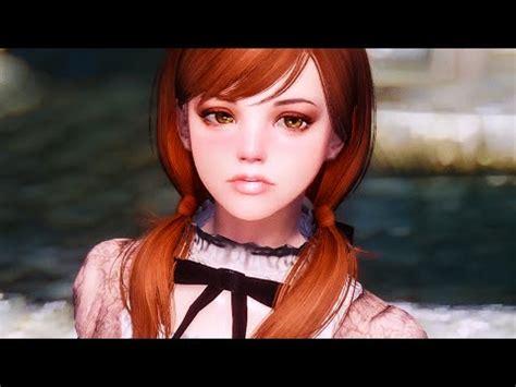 lisa renick hairstyles skyrim lovergirl custom race mod loverslab skyrim race