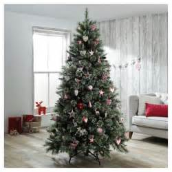 buy dobbies 9ft christmas tree ullswater snow tip from
