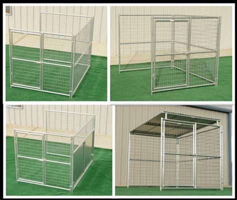 Kennel Sections by Galvanized Steel Cages For Dogs Fence Panels For Dogs 5 X9