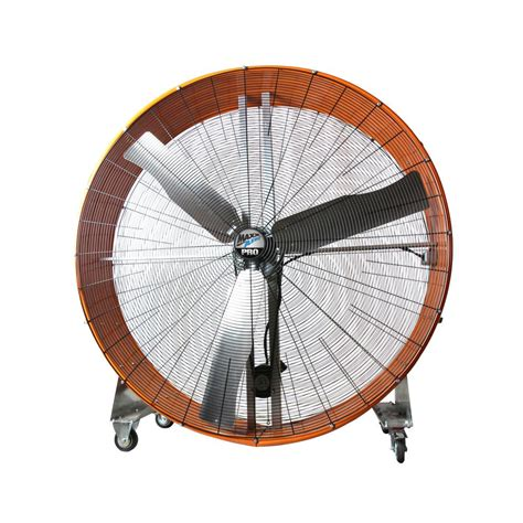home depot barrel fan maxxair pro 60 in 2 speed drum fan with steel casters