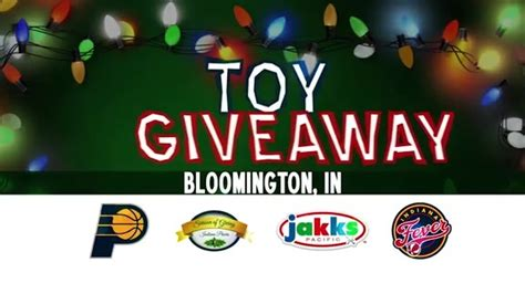 Christmas Toy Giveaway - 2016 holiday toy giveaway bloomington taable note