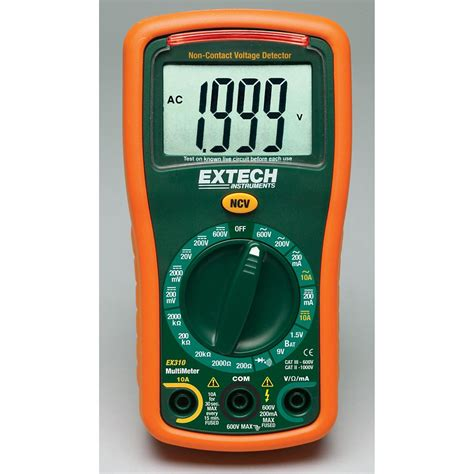 Multimeter Mini extech instruments 9 function mini multimeter non