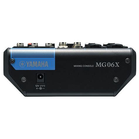 Mixer Yamaha Mg 06x Original 6 Ch yamaha mg 06x 171 mixer