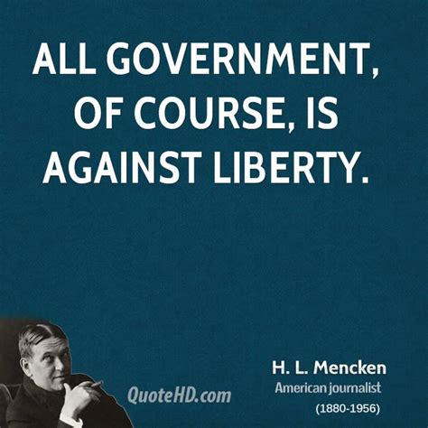 Quote Of The Day Hl Mencken by H L Mencken Quotes Moron Quotesgram