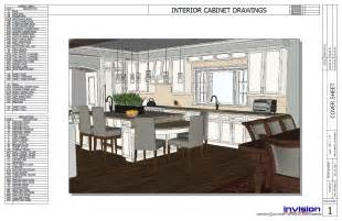 layout vs sketchup cabinetmaker vs customer presentation drawing sketchup