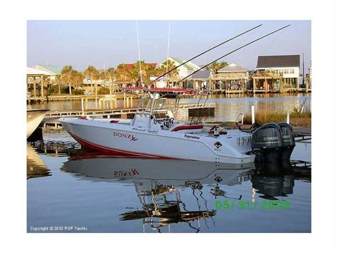 donzi boat second hand donzi 35 zf open in florida power boats used 10097 inautia