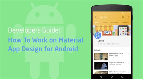 android layout design guide developers guide how to work on material design for android