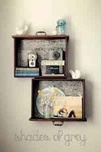 remodelaholic unique drawer shelves