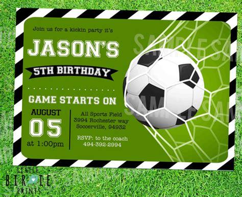 soccer invitation template soccer invitation soccer birthday soccer birthday