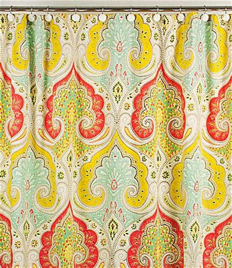 echo jaipur shower curtain jaipur shower curtains and dillards on pinterest