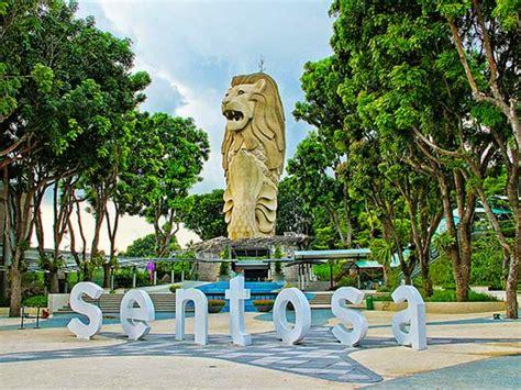 E Tiket Sentosa Merlion Tower Dewasa Anak imbiah lookup 8 wahana di satu lokasi tempat wisata di singapore