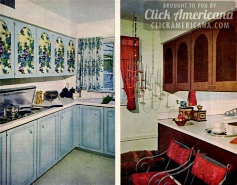 Glam up your home with vintage '60s kitchen cabinets