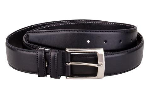 dress belt capo pelle mens belts black genuine