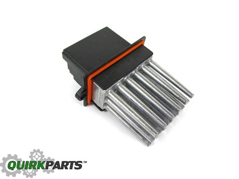 2004 pacifica blower motor resistor 2004 2008 pacifica with auto temp blower motor resistor new mopar ebay