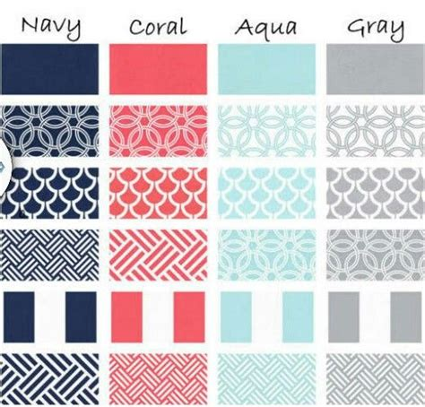bedding color combinations color scheme for living room navy couch coral pillows