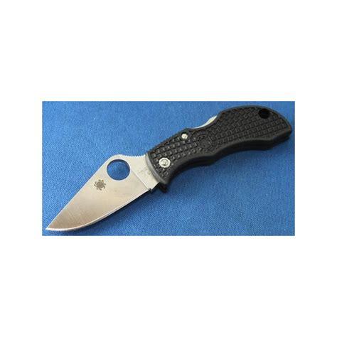 spyderco vg 10 spyderco manbug plain acier vg 10 frn black couteaux