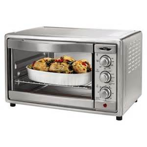 Toaster Convection Ovens On Sale Oster 174 6 Slice Convection Toaster Oven Brushed Target