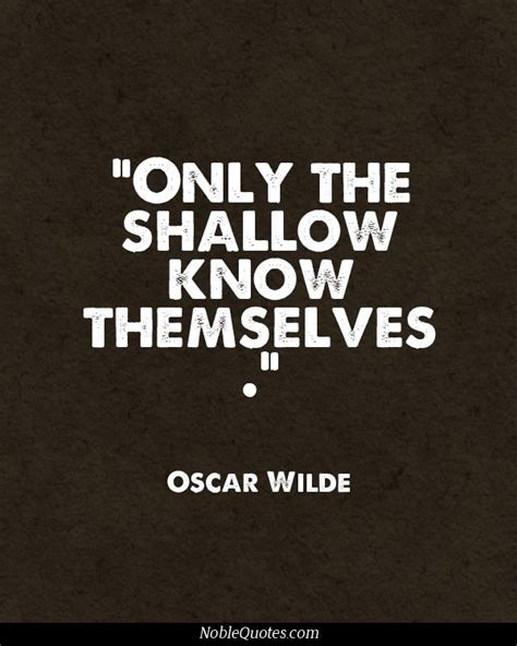 Shallow Quotes