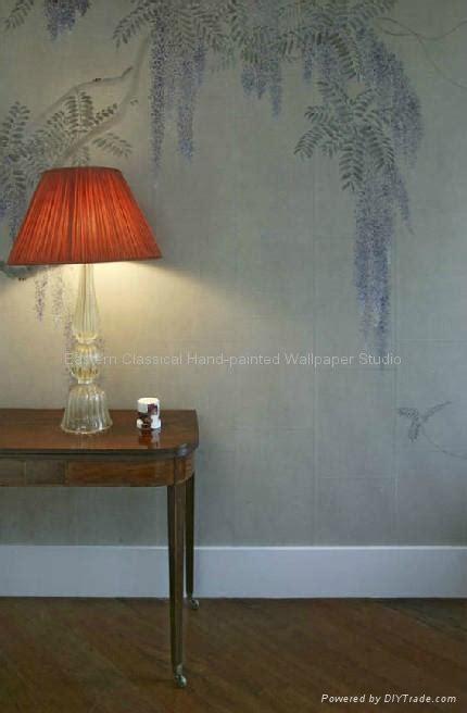Craft Paper Wall Covering - painted paper wallpaper silk wall