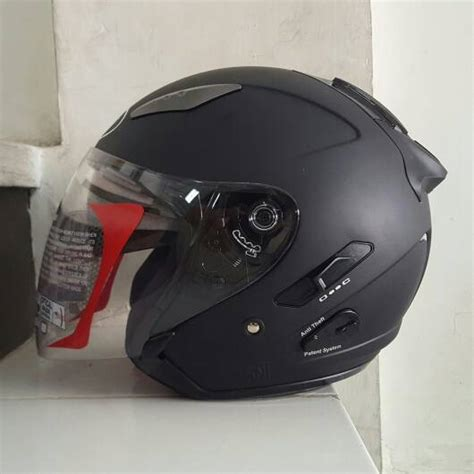 Helm Kyt Galaxy Orange jual helm kyt galaxy slide solid polos toko helm