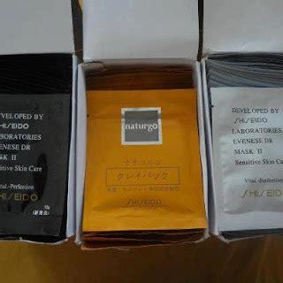 Masker Gold Shiseido Asli hidayah leen health shiseido mask