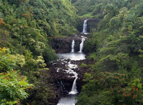 waterfall island the 5 best waterfalls on hawaii s big island hawaii