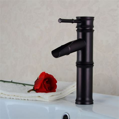 how to clean oil rubbed bronze bathroom fixtures luxury bamboo design oil rubbed bronze bathroom faucet dl