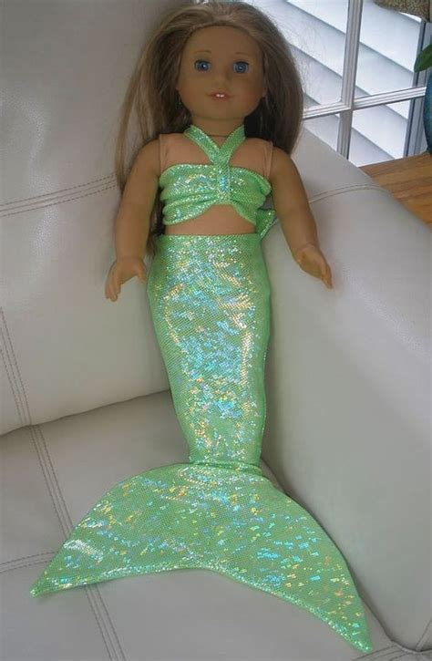 pattern for ariel s pink dress american girl doll mermaid tail outfit costume girl