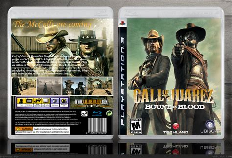 call  juarez bound  blood playstation  box art cover