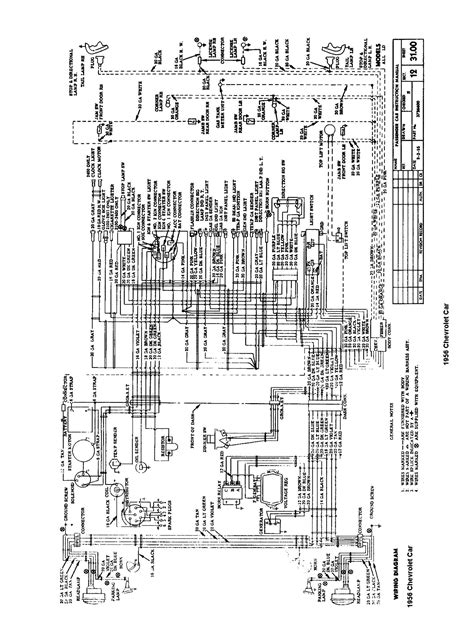 1955 chevy spark wiring diagram wiring diagram with