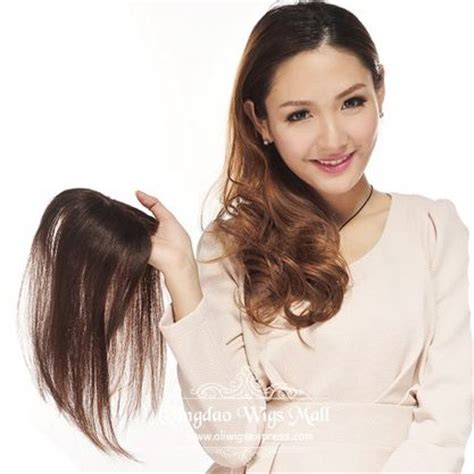 hair toppers for thinning hair women 1000 images about women s human hair wiglets and