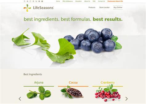 healthy u supplements lifeseasons health supplements awwwards nominee