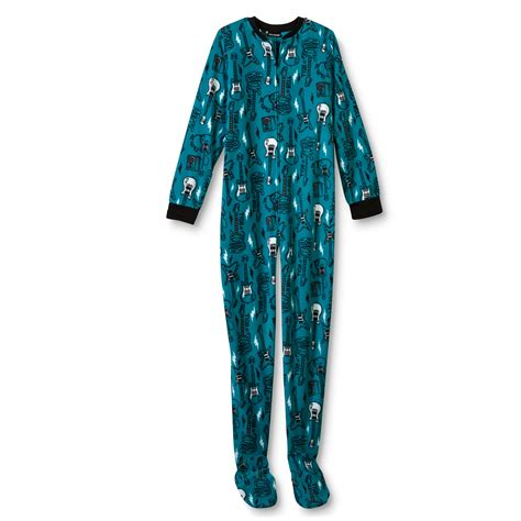 Boys Footed Sleepers by Joe Boxer Boy S Fleece Footed Pajamas Guitars Shop