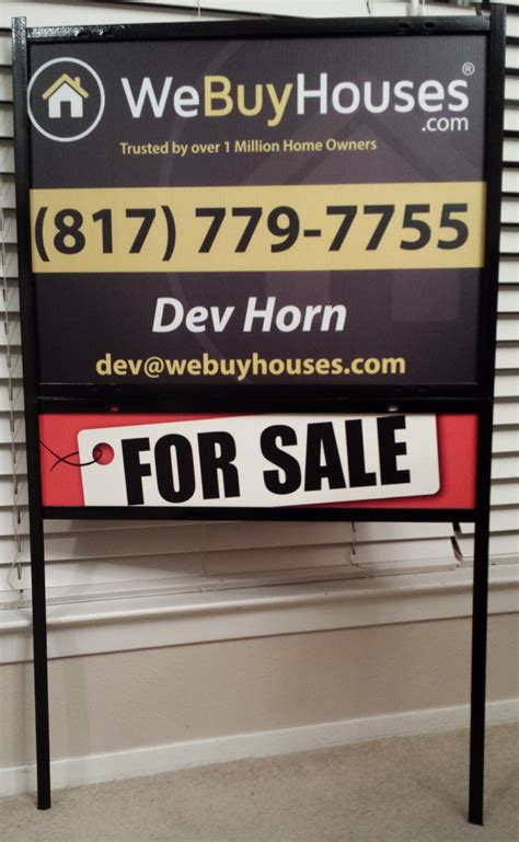 buy house sign yard signs we buy houses 174 marketing portal