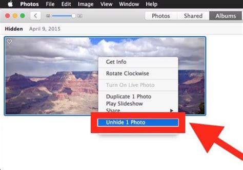 Imagenes Ocultas Mac | c 243 mo ocultar im 225 genes en la app de fotos para mac