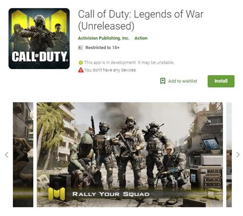 call  duty mobile legend  war game  apk