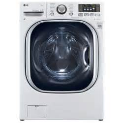 Lg 4 3 cu ft ultra large capacity front load washer dryer combo
