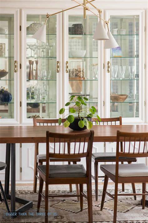 modern formal dining room updates bigger than the three