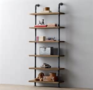 pipe bookshelves industrial pipe shelving