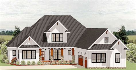 Country Craftsman House Plans by Plan 46325la Country Craftsman House Plan With Optional