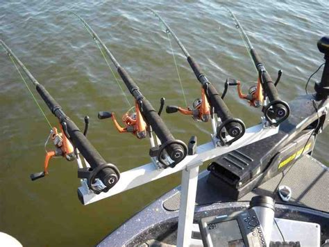 rod and reel head boat crappie rod holders for boats tv rod holders pinterest